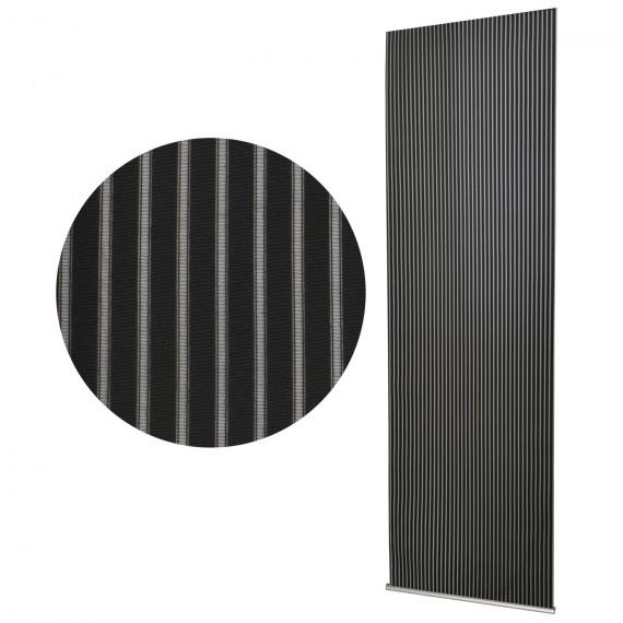 schiebevorhang 60x245 cm vanessa schwarz. Black Bedroom Furniture Sets. Home Design Ideas