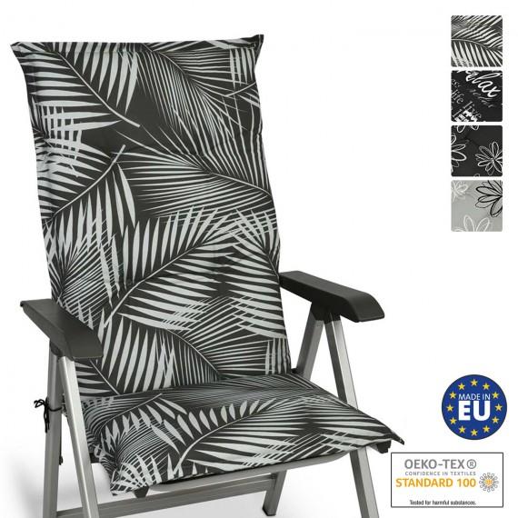 Beautissu Hochlehner Auflagen 120x50x6 cm in diversen Designs