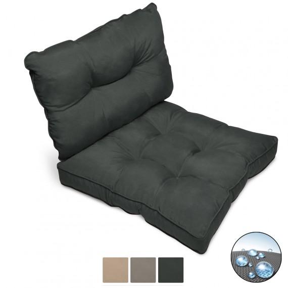 Beautissu Loungekissen Flair Outdoor - Sitzkissen und Rückenlehnen