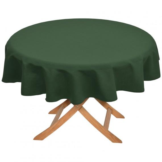 tischdecke rund 160 cm gr n hier kaufen. Black Bedroom Furniture Sets. Home Design Ideas