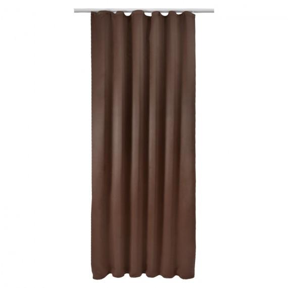 Universalband Verdunkelungs Vorhang Amelie 140x245 cm - braun Braun