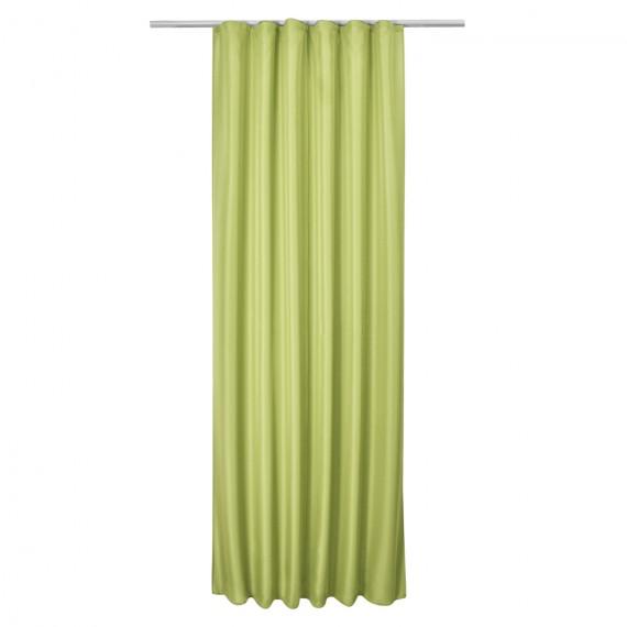 Universalband Vorhang Amelie blickdicht - 140x175cm - grün Grün | 140 x 175