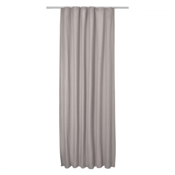 Thermo-Universalband Vorhang Amelie 140 x 245cm - grau Grau