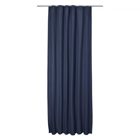 thermo universalband vorhang 140cm x 245cm blau. Black Bedroom Furniture Sets. Home Design Ideas