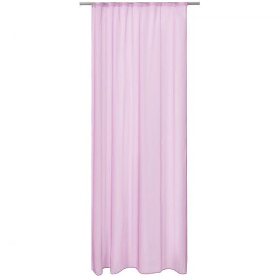 Beautissu Universalband transparent Amelie 140 x 245 cm - rosa Rosa