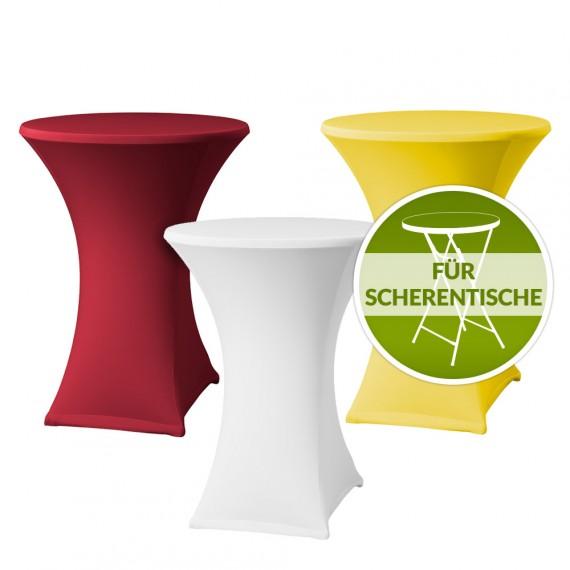 Stehtischhusse Stretch Husse Samba D2 inkl. Topdeckel