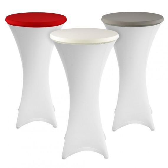 Topdeckel Stretch für Stehtische - Schonbezug Tischplatte