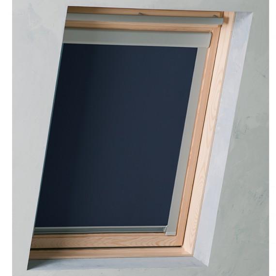 dachfenster rollo dunkelblau ggl gpl ghl 204 hier kaufen. Black Bedroom Furniture Sets. Home Design Ideas