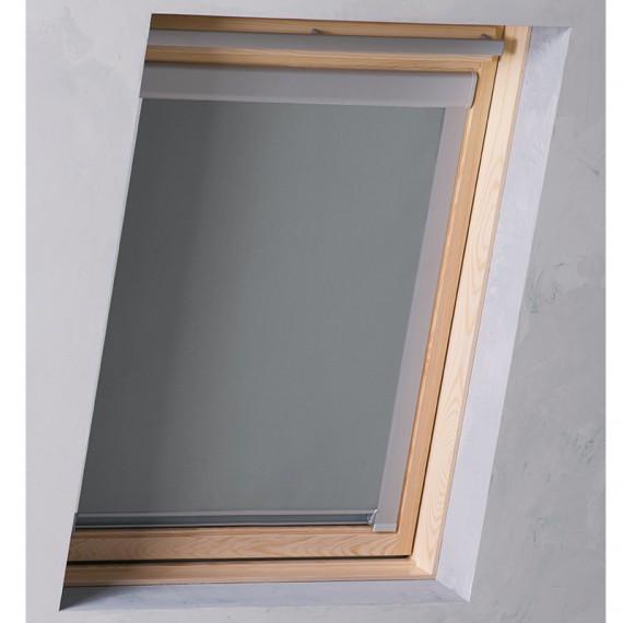 dachfenster rollo grau ggl ggu gzl ghl ghu gpu gpl m06. Black Bedroom Furniture Sets. Home Design Ideas