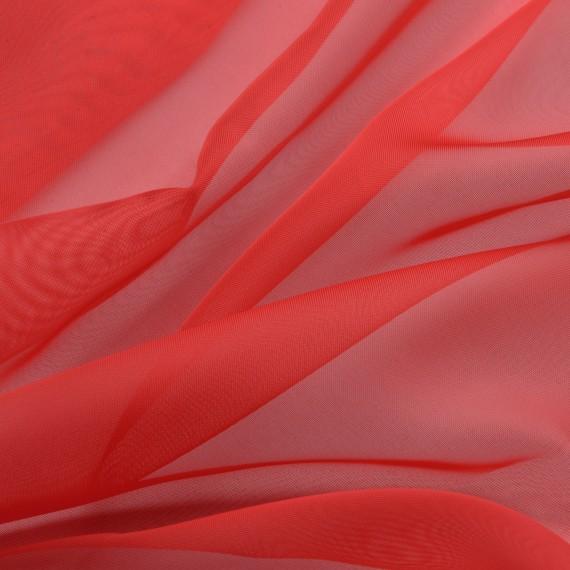 schlaufenschal transparent 140x245 rot kaufen. Black Bedroom Furniture Sets. Home Design Ideas