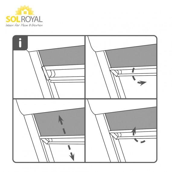 dachfenster rollo blau ggl ggu ghl ghu gpu c04 von sol royal hier kaufen im hussen. Black Bedroom Furniture Sets. Home Design Ideas