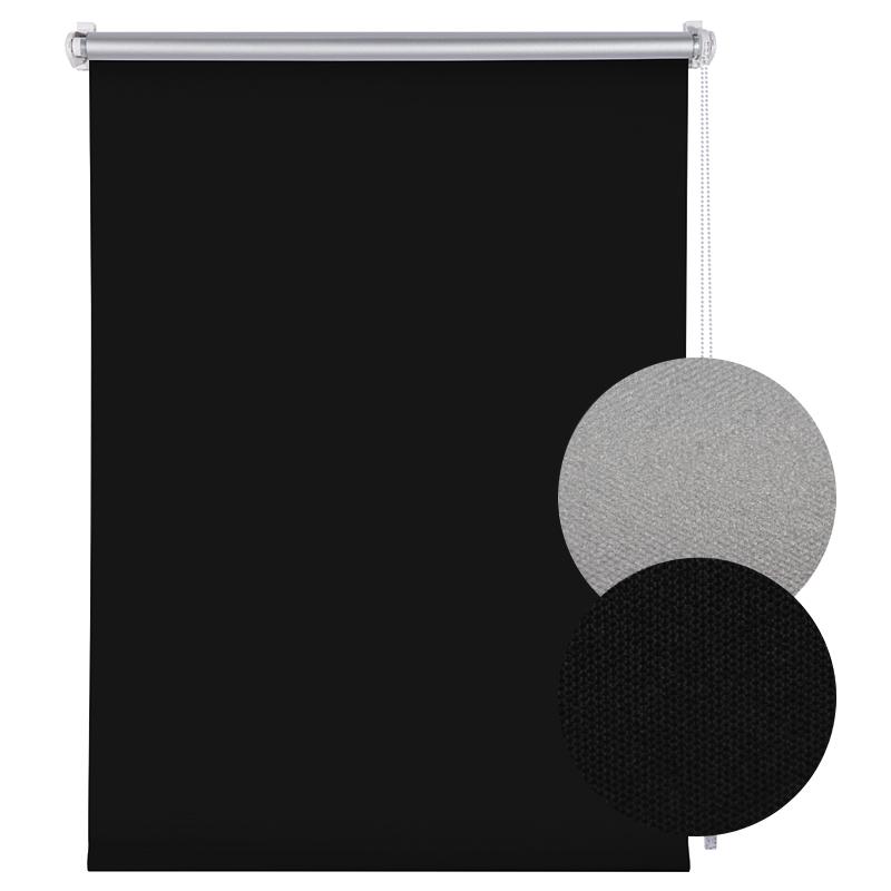 sol royal fenster rollo 60 x 160 cm schwarz hussen. Black Bedroom Furniture Sets. Home Design Ideas