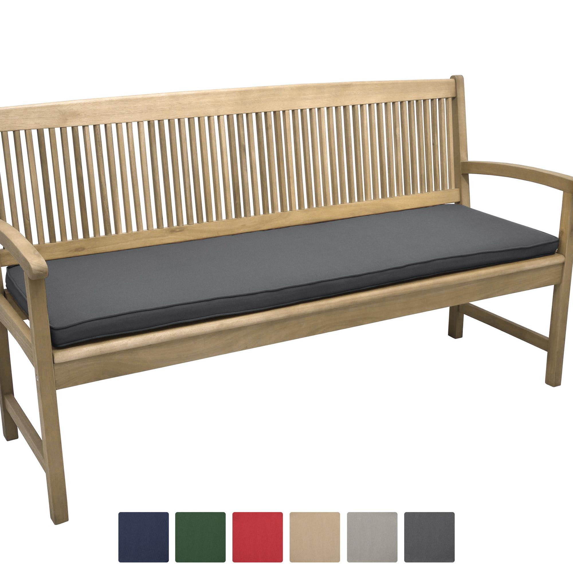 Beautissu Loft BK Bankauflage Sitzpolster in div. Größen und Farben