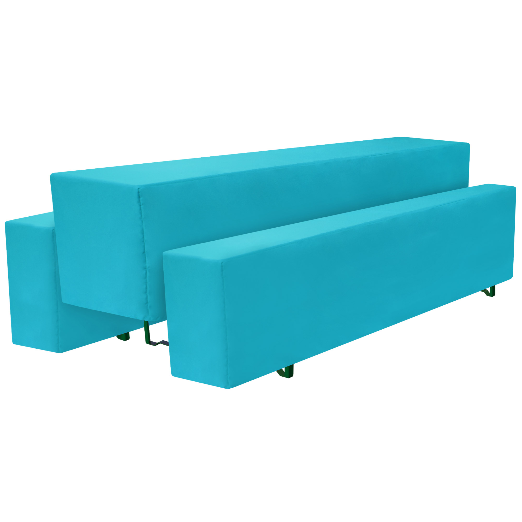 3tlg set biertischhusse basic m 50x220cm t rkis blau kaufen. Black Bedroom Furniture Sets. Home Design Ideas