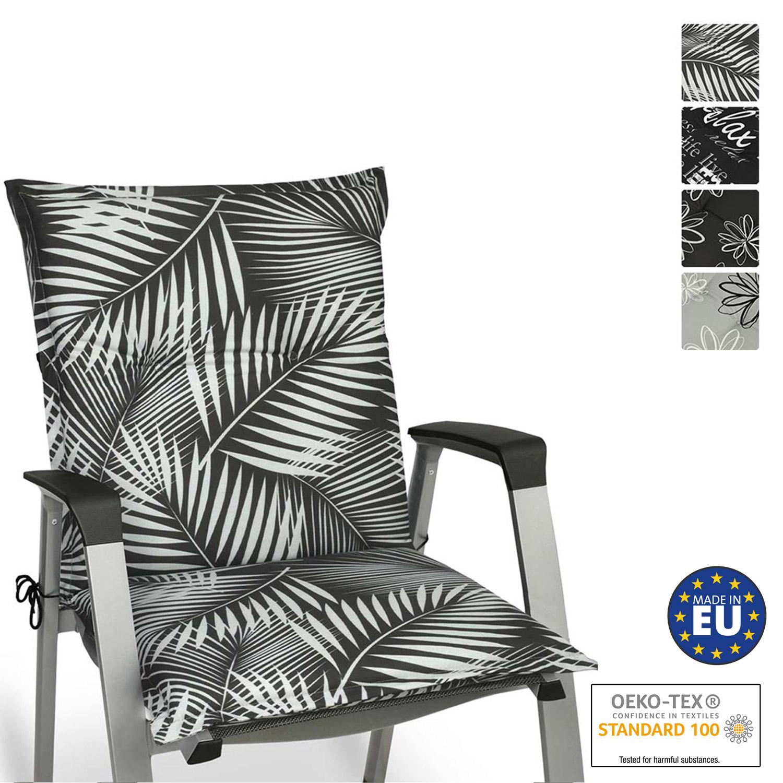 Beautissu Niederlehner Auflagen 120x50x6 cm in diversen Designs