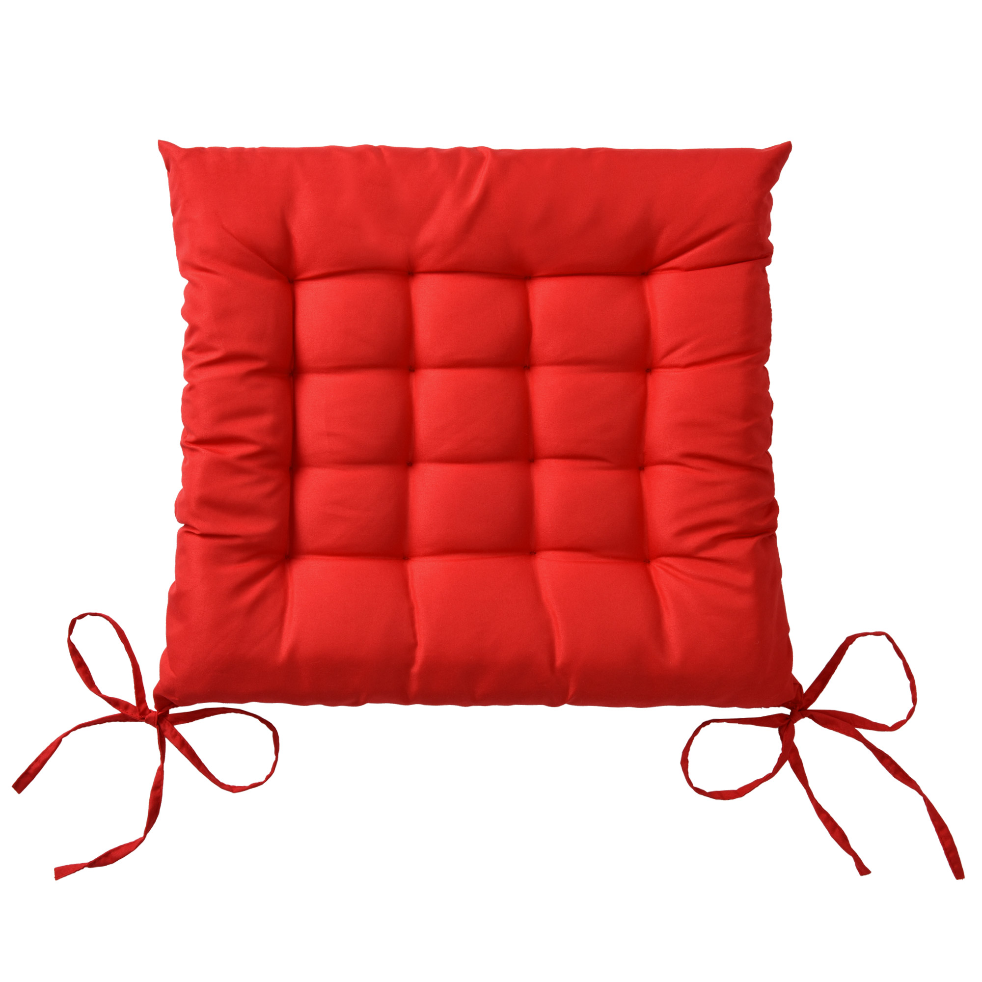 sitzkissen lea 40x40cm rot kaufen. Black Bedroom Furniture Sets. Home Design Ideas