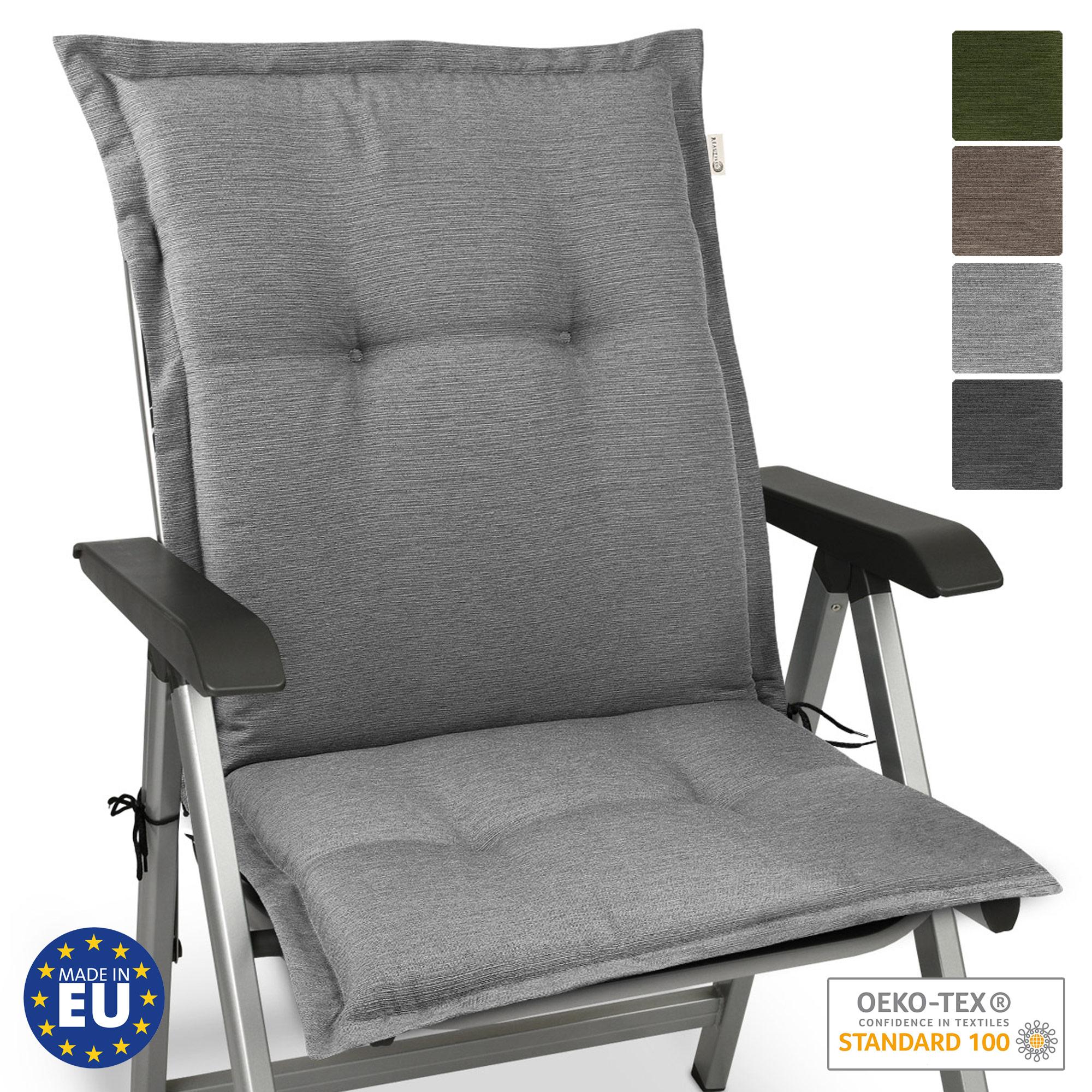 Beautissu HighLux NL Niedriglehner Auflage 105x50x7cm diverse Farben