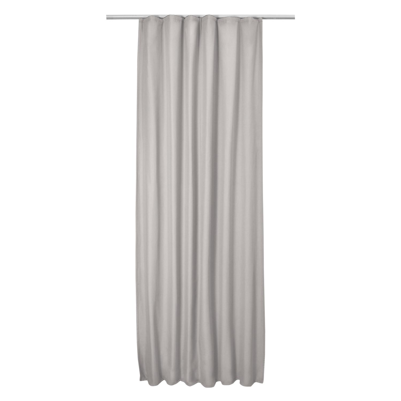 thermo universalband vorhang 140cm x 245cm grau. Black Bedroom Furniture Sets. Home Design Ideas