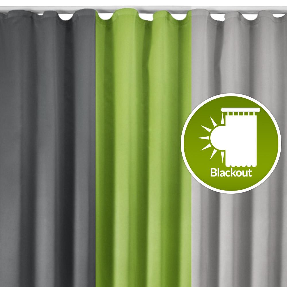 Beautissu Universalband Verdunkelungs Vorhang Amelie 140x245 div. Farben