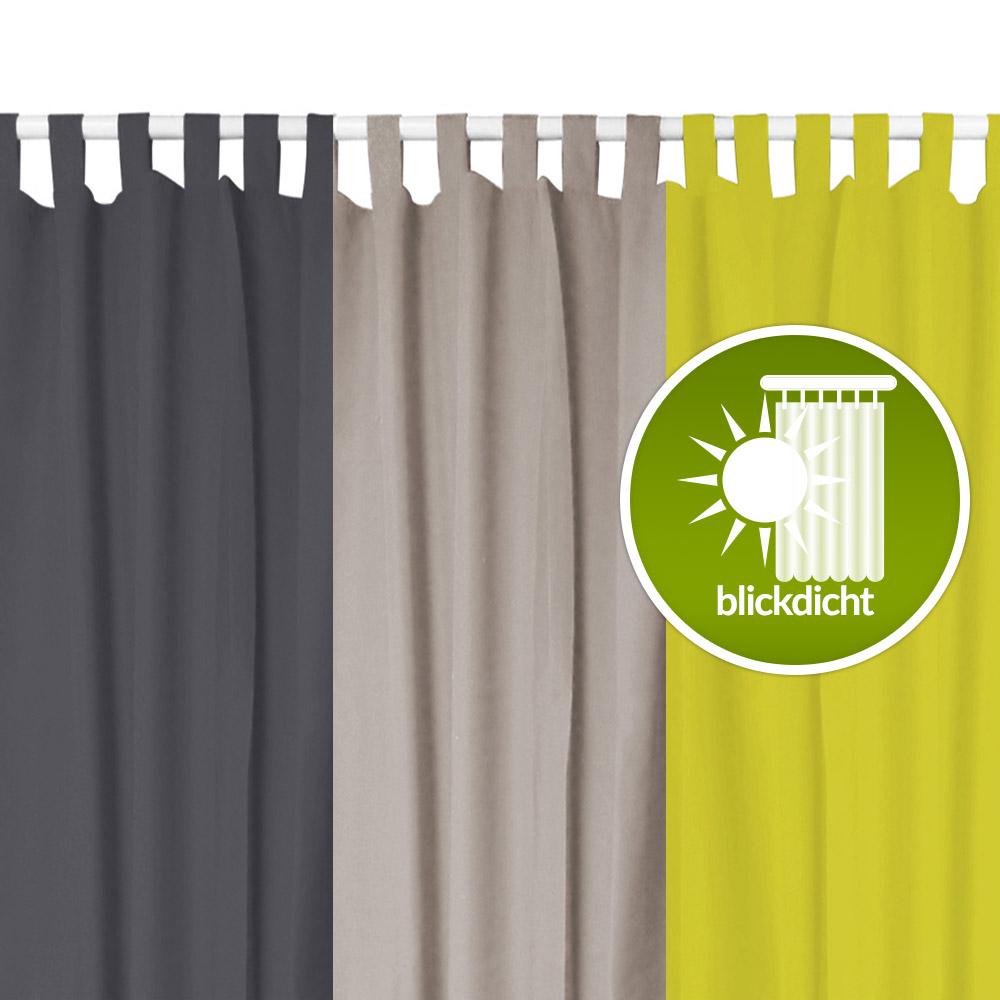 blickdicht er set gardinen vorhnge blickdicht kruselband x schwarz crush vhsz with blickdicht. Black Bedroom Furniture Sets. Home Design Ideas
