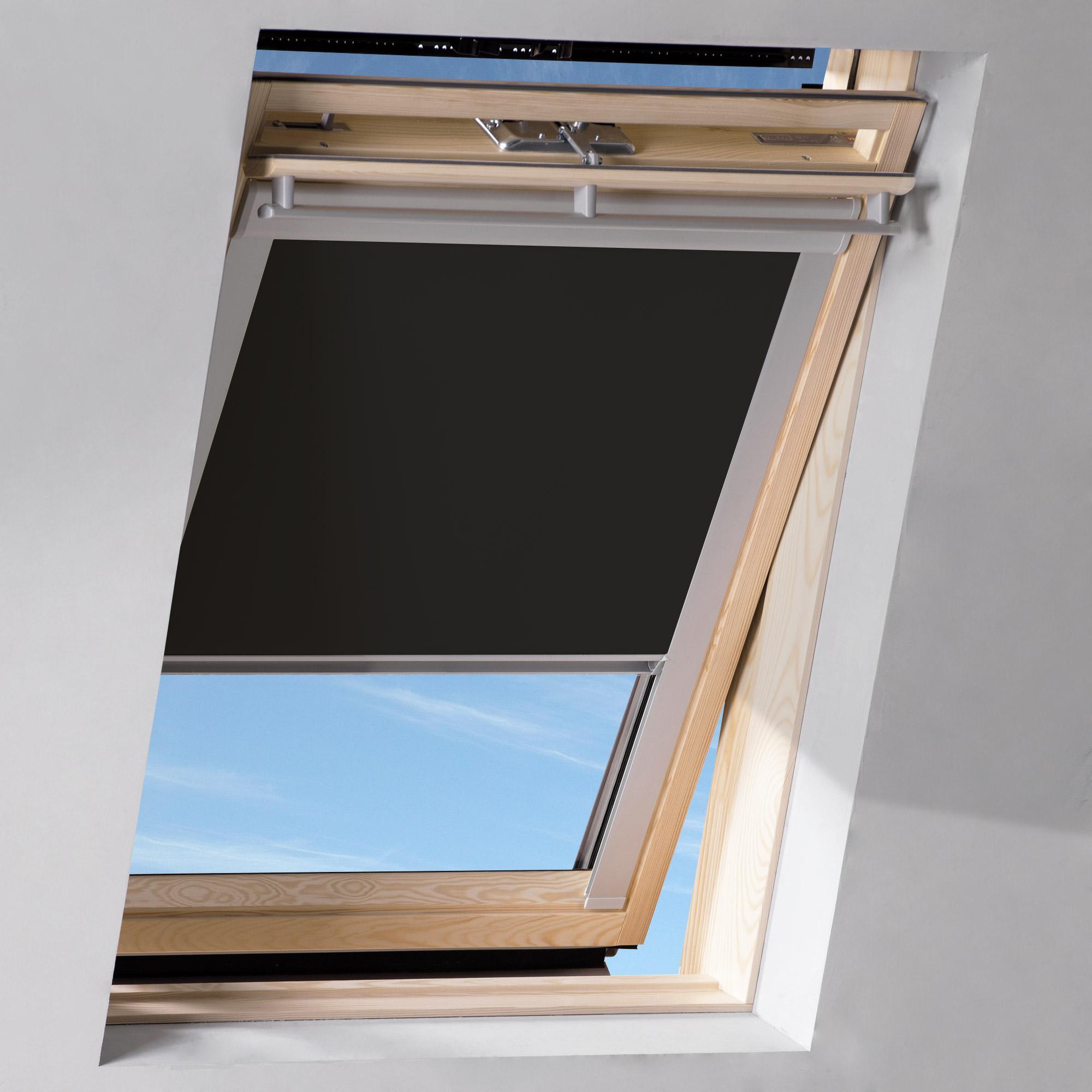 dachfenster rollo schwarz ggl gpl ghl s06 606 4 von sol royal hier kaufen im hussen. Black Bedroom Furniture Sets. Home Design Ideas