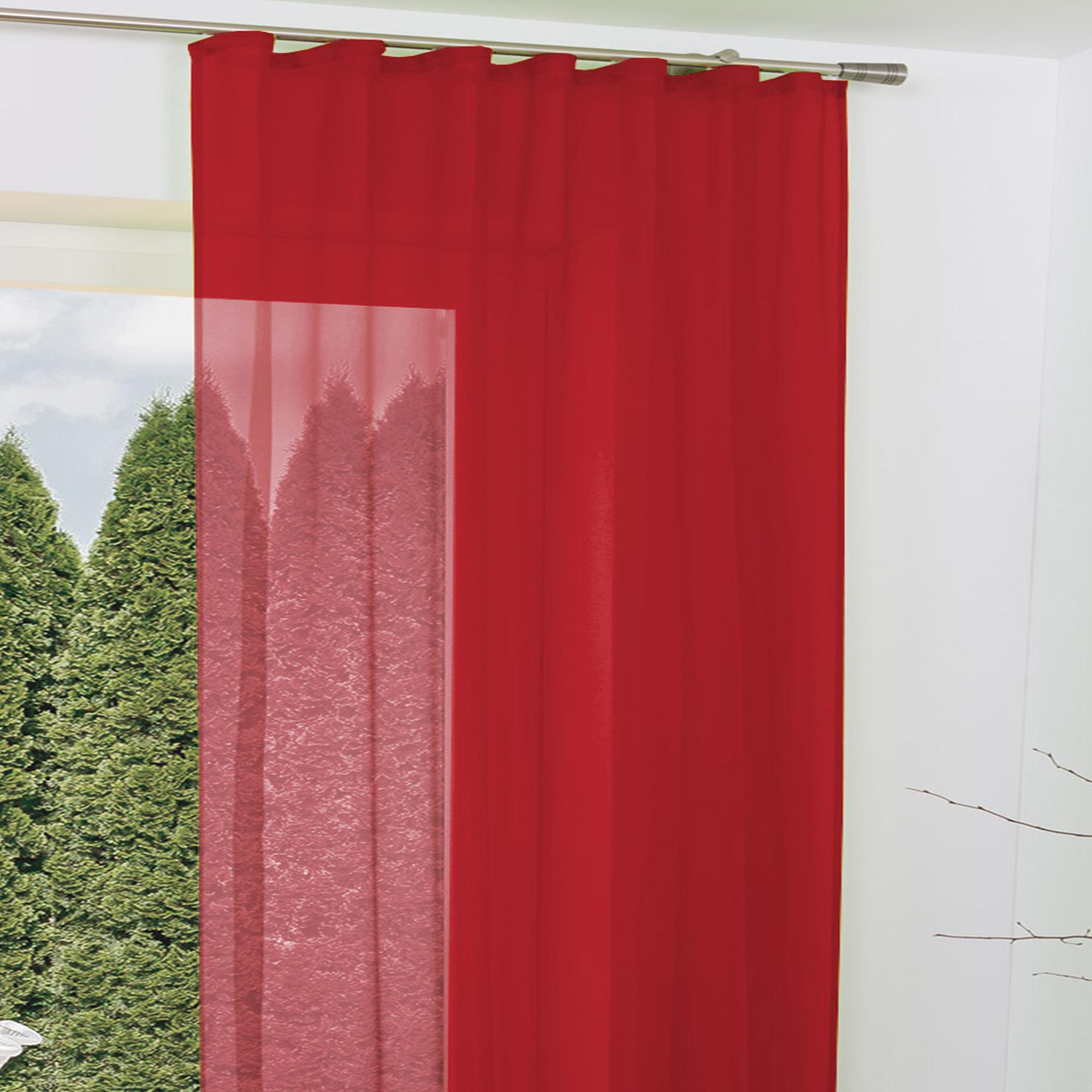 Beautissu Schlaufenschal transparent Amelie 140x245 cm